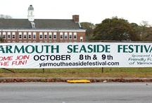 Yarmouth Seaside Festival / The Yarmouth Seaside Festival, was founded in 1978 by South Yarmouth resident, Jan Butler, in the hope of creating community spirit and pride in the Town of Yarmouth. Presented annually on Columbus Day weekend, The Yarmouth Seaside Festival boasts a craft fair of more than 125 crafters from all over the country, a giant parade, continual musical entertainment, high-quality children's events, kayak and canoe race, 5K road race, greased pole contests, pie-eating contests, fireworks display & more.
