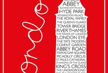 London Posters / inspiration For London Calling's 2014 campaign