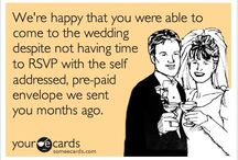 Wedding Humor / Because every bride needs a laugh. #wedding #wedding planning #wedding humor #Michigan wedding #Chicago wedding #Mike Staff Productions