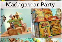 Madagascar theme birthday