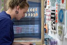 Mollie Makes Handmade Awards 2017 / Hello! My name is Miesje and I am a textile designer, screen printer and maker based at the Sorting Office Studios in Eastleigh. The aim of my work is to bring bold, bright and colourful designs to people's homes in the form of functional homewares, which include cushions, lampshades, quilts, purses, bags and aprons. My surface patterns are loosely influenced by Scandinavian and mid-century design. I have been trading for just over 3 years and would like to enter the Establised Business Award.
