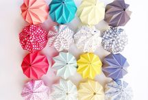 Formes géométriques en origami