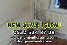 Nem Alma Hizmeti / Nem Alma Hizmetleri, Nem alma firması olarak Türkiye'nin dört bir alanına nem alma hizmeti vermekteyiz. Nem insanların hayatına hızlı bir şekilde nüfus eden ciddi problemlerden biridir.