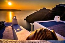Santorini,Greece / Santorini is a place that goes beyond the traditional definition of beauty. It stands out from the rest of the Cyclades for its wild side. The views of the caldera, the magnificent sunset and the unique beaches are the first reasons someone chooses to visit this island. For your bookings, check here: http://e-globaltravel.com/locations/santorini/