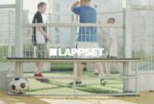 Ball games / Ball games are at the core of communal physical activity. Lappset multi-purpose sports arenas lend themselves to almost any ball game. The standard version functions as a football field, but it can easily be adapted for floorball, basketball or volleyball, for example. Goals and stands for various games are naturally included in Lappset's product selection.