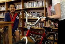 Library Stories / Do you have a story about how much you love your library or what it means to you or your family?  Share it with us!  www.atyourlibrary.org/librarystories / by ilovelibraries.org