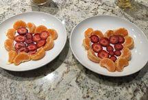 Creative & super easy breakfast ideas! / Fun & super simple breakfast food/art for kids!  / by Debbie Bechtel