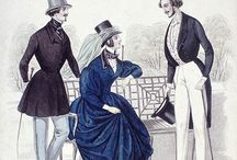Men's fashion for the ball 1840-1860s