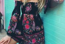 outfit boho summer