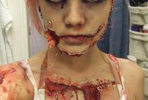 Gory makeup / Gore