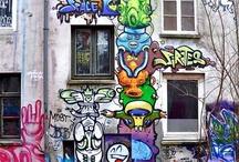 grafitos intervenciones urbanas