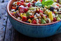 Summer vegetarian meals