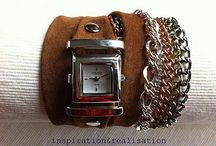 Creating watch bands / by Donna Stgeorge