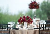 Burgundy weddings