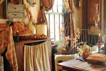 Romantic French Country Kitchen / Inspiration for the kitchen of L'Ancienne Maison