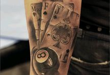 dice cards 8ball etc