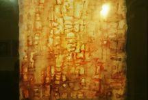 Jacek Jaroszewski 2 / Akwarele i litografie- kompozycje abstrakcyjne