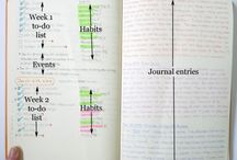 DIY Planners of all kinds / Stuff related to bullet journaling, hobonichi, fauxbonichi, and other things about planners.