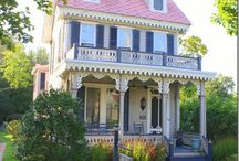 Romantische Häuser