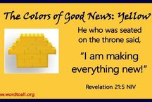 The Colors of Good News / Good News for Everyone / by Word To All International