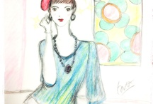 My sketches... / Random fashion related sketches.
