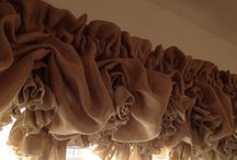 Burlap Curtains