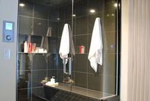 Custom Glass Ideas for your Bathroom / Checking out the very best in home decor with custom glass ideas for bathrooms