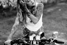 girls on motor