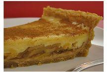 tarte de maçã com leite condensado