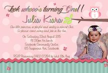 1st Birthday Invitations / 1st birthday invitations