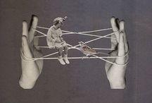 Веревочки на пальцах