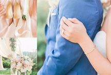 Elegant Blush and Navy San Ramon Wedding