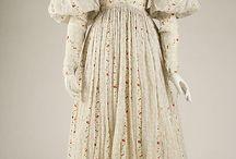 19th century: 1820s: Women's fashion