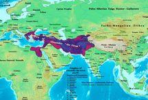 történelem atlaszok