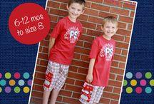 Boys Pants and Shorts PDF Sewing Patterns