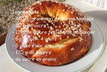 Brioches/Gâteaux