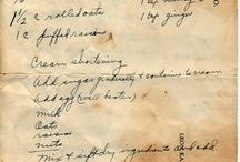 Old recipes / Classic and not so classic recipes from days gone by.