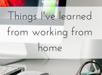 Working From Home Inspiration / Posts that give inspiration to work from home