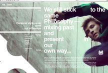 website design - student inspirations