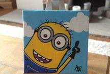Minion / Minion small painting