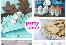 Frozen Party Ideas / Frozen ideas, party