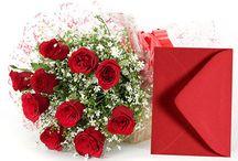 Romantic Valentine Flowers / Here is huge collection of romantic valentine flowers. For more take a look at http://www.giftalove.com/valentine/valentine-flowers-471.html