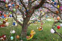 Easter Time - Velikonoce / Velikonoční dekorace, věnce, nápady, ....