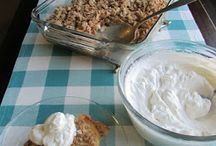 Recipes - pudding and desserts