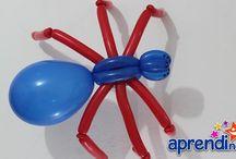 escultura de balão