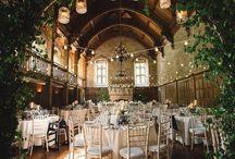 Wedding location decoration