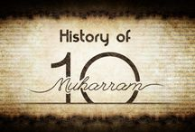 History of Muharram / The Muharram ul haram is the first month in the Islamic calendar. As the name 'haram' suggests, it's a sacred month among others i.e.