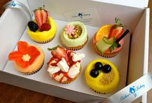Summer 2012 / Even if it raining cats and dogs outside, our Summer range of cupcakes will make you feel like you have just had two weeks of perfect sun!