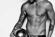 Beckham and other beauties
