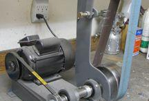 homemade grinding belt